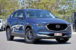 2018 Mazda CX-5 KF4WLA Touring SKYACTIV-Drive i-ACTIV AWD Blue 6 Speed Sports Automatic Wagon Hillcrest Logan Area Preview
