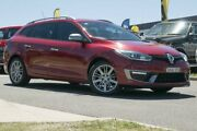 2016 Renault Megane III K95 Phase 2 GT-Line Sportwagon EDC Red 6 Speed Sports Automatic Dual Clutch Pearce Woden Valley Preview