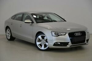 2012 Audi A5 8T MY12 Sportback Multitronic Silver 8 Speed Constant Variable Hatchback Mansfield Brisbane South East Preview
