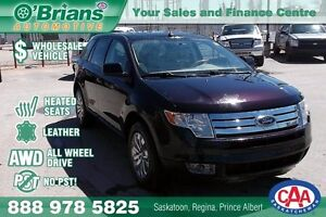 2007 Ford Edge SEL - No PST, Wholesale Unit w/AWD, Leather