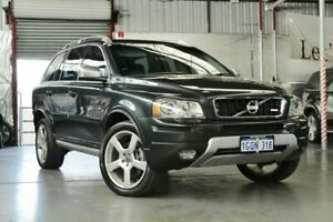 2012 Volvo XC90 P28 MY13 D5 Geartronic R-Design Saville Grey 6 Speed Sports Automatic Wagon Myaree Melville Area Preview