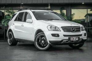 2005 Mercedes-Benz ML W163 350 Luxury (4x4) White 5 Speed Auto Tipshift Wagon Bowen Hills Brisbane North East Preview