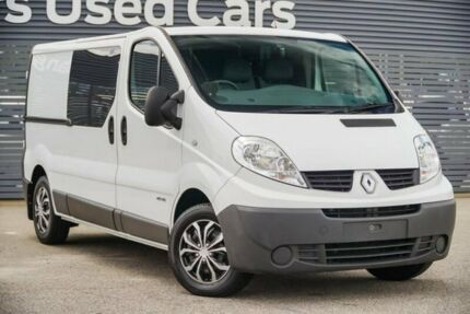 2014 Renault Trafic X83 Phase 3 Low Roof LWB White 6 Speed Manual Van Maddington Gosnells Area Preview