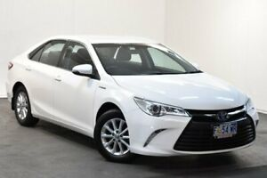2017 Toyota Camry AVV50R MY16 Altise Hybrid Diamond White Continuous Variable Sedan North Hobart Hobart City Preview