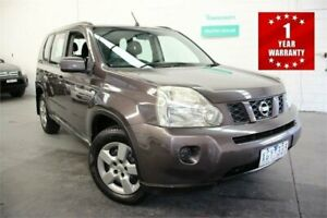 2009 Nissan X-Trail T31 ST Grey Constant Variable Wagon Mordialloc Kingston Area Preview