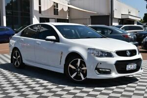 2017 Holden Commodore VF II MY17 SV6 White 6 Speed Sports Automatic Sedan Attadale Melville Area Preview