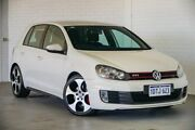 2011 Volkswagen Golf VI MY11 GTI DSG White 6 Speed Sports Automatic Dual Clutch Hatchback Bellevue Swan Area Preview