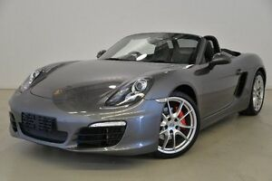 2012 Porsche Boxster 981 S PDK Grey 7 Speed Sports Automatic Dual Clutch Convertible Mansfield Brisbane South East Preview