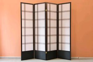 Shoji Modern base room divider/privacy screen