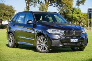 2018 BMW X5 F15 xDrive30d Black Sapphire 8 Speed Sports Automatic Wagon Burswood Victoria Park Area Preview