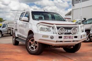 2015 Holden Colorado RG MY16 LS Crew Cab White 6 Speed Sports Automatic Cab Chassis Gympie Gympie Area Preview