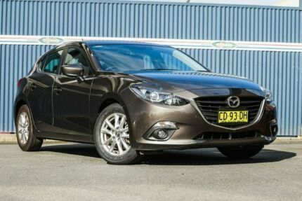 2015 Mazda 3 BM5478 Touring SKYACTIV-Drive Brown 6 Speed Sports Automatic Hatchback Tweed Heads Tweed Heads Area Preview