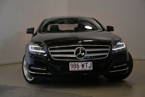 2011 Mercedes-Benz CLS350 C218 BlueEFFICIENCY Coupe 7G-Tronic Black 7 Speed Sports Automatic Sedan Mansfield Brisbane South East Preview