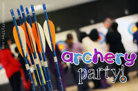 Archery Events and Birthday Parties