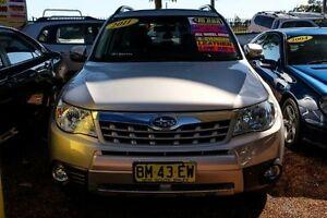 2011 Subaru Forester S3 MY11 XS AWD Premium Silver 4 Speed Sports Automatic Wagon Minchinbury Blacktown Area Preview