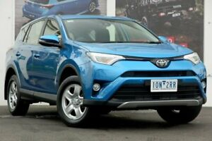 2018 Toyota RAV4 ZSA42R GX 2WD Blue 7 Speed Constant Variable Wagon Ferntree Gully Knox Area Preview