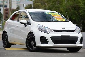 2016 Kia Rio UB MY16 S White 4 Speed Sports Automatic Hatchback Windsor Brisbane North East Preview