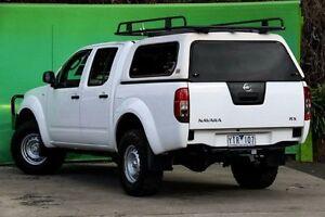 2011 Nissan Navara D40 MY11 RX White 6 Speed Manual Utility Ringwood East Maroondah Area Preview
