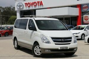 2010 Hyundai iMAX TQ White 4 Speed Automatic Wagon Wyoming Gosford Area Preview