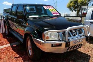 2002 Nissan Navara D22 ST-R (4x4) Black Manual Dual Cab Utility Minchinbury Blacktown Area Preview