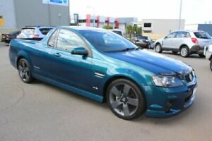 2012 Holden Commodore VE II MY12 SV6 Thunder Teal Blue 6 Speed Manual Utility Wangara Wanneroo Area Preview