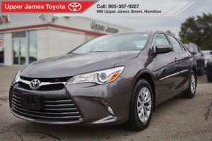 2015 Toyota Camry LE - Toyota Certified for added peace of mind.
