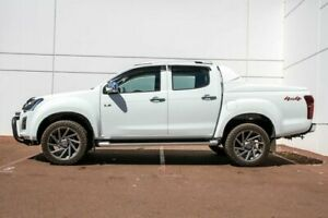 2018 Isuzu D-MAX MY18 LS-T Crew Cab White 6 Speed Sports Automatic Utility Maddington Gosnells Area Preview
