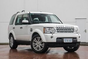 2012 Land Rover Discovery 4 Series 4 MY12 SDV6 CommandShift SE White 6 Speed Sports Automatic Wagon Wangara Wanneroo Area Preview