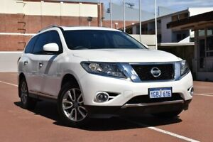 2016 Nissan Pathfinder R52 MY15 ST-L X-tronic 2WD White 1 Speed Constant Variable Wagon Fremantle Fremantle Area Preview