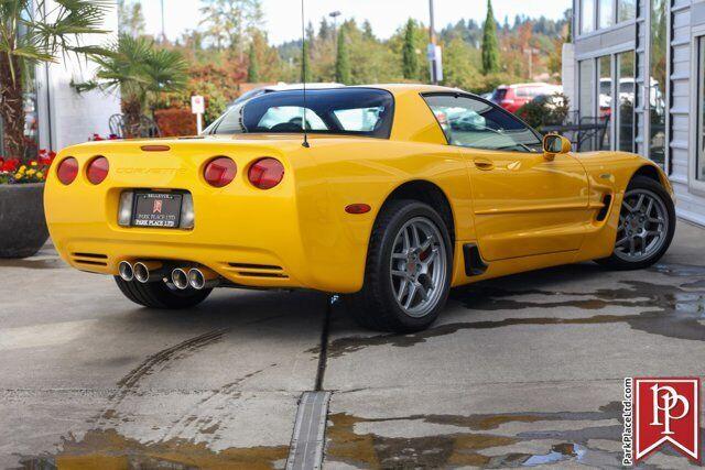 2002 Yellow Chevrolet Corvette Z06  | C5 Corvette Photo 7