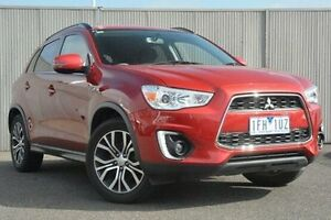 2015 Mitsubishi ASX Red Constant Variable Wagon Heidelberg Heights Banyule Area Preview
