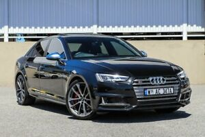 2017 Audi S4 B9 8W MY17 Tiptronic Quattro Black Sports Automatic Sedan Cannington Canning Area Preview