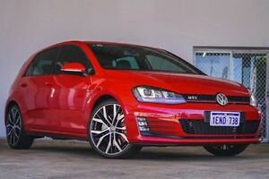 2014 Volkswagen Golf VII MY14 GTI DSG Performance Red 6 Speed Sports Automatic Dual Clutch Hatchback Embleton Bayswater Area Preview
