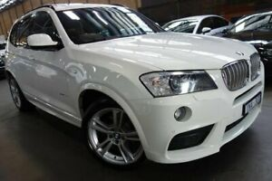 2011 BMW X3 F25 xDrive30d Steptronic White 8 Speed Automatic Wagon Port Melbourne Port Phillip Preview