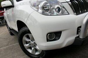 2013 Toyota Landcruiser Prado KDJ150R 11 Upgrade GXL (4x4) White 5 Speed Sequential Auto Wagon Mosman Mosman Area Preview