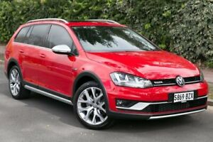 2016 Volkswagen Golf VII MY17 Alltrack DSG 4MOTION 132TSI Red 6 Speed Sports Automatic Dual Clutch Parkside Unley Area Preview