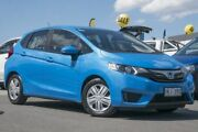 2014 Honda Jazz GF MY15 VTi Vivid Sky Blue 1 Speed Constant Variable Hatchback Pearce Woden Valley Preview