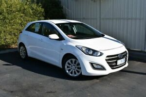 2016 Hyundai i30 GD4 Series II MY17 Active White 6 Speed Sports Automatic Hatchback South Burnie Burnie Area Preview