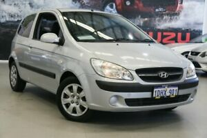 2010 Hyundai Getz TB MY09 S Silver 5 Speed Manual Hatchback Rockingham Rockingham Area Preview