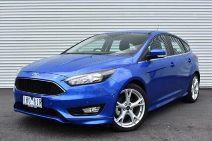 2016 Ford Focus LZ Titanium Blue 6 Speed Automatic Hatchback
