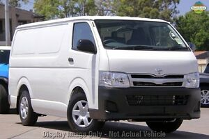 2011 Toyota Hiace KDH201R MY11 LWB White 5 Speed Manual Van Westminster Stirling Area Preview
