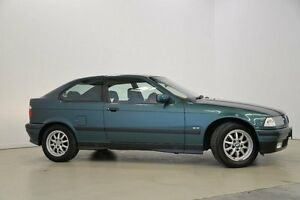1998 BMW 318TI E36 E36 Green 4 Speed Automatic Hatchback Mansfield Brisbane South East Preview