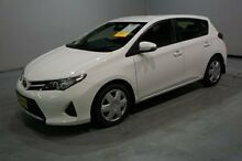 2014 Toyota Corolla ZRE182R Ascent S-CVT White 7 Speed Constant Variable Hatchback Old Guildford Fairfield Area Preview