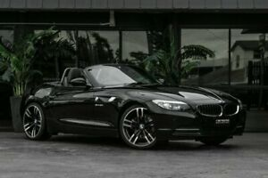 2010 BMW Z4 E89 MY1110 sDrive30i Steptronic Black 6 Speed Sports Automatic Roadster