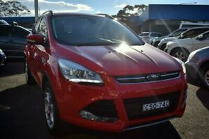2014 Ford Kuga TF Titanium PwrShift AWD Red 6 Speed Sports Automatic Dual Clutch Wagon Liverpool Liverpool Area Preview