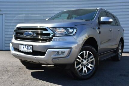2017 Ford Everest UA Trend 4WD Silver 6 Speed Sports Automatic Wagon
