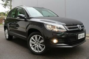 2012 Volkswagen Tiguan 5N MY12.5 132TSI Tiptronic 4MOTION Pacific Black 6 Speed Sports Automatic Old Reynella Morphett Vale Area Preview
