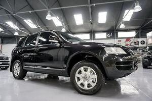 2005 Volkswagen Touareg 7L V6 Luxury Black Magic 6 Speed Tiptronic Wagon Port Melbourne Port Phillip Preview