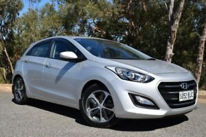 2015 Hyundai i30 GD3 Series II MY16 Active X Silver 6 Speed Sports Automatic Hatchback St Marys Mitcham Area Preview