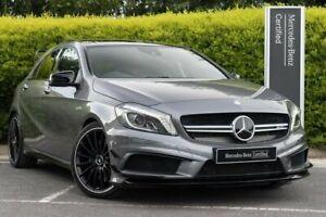 2015 Mercedes-Benz A-Class W176 805+055MY A45 AMG SPEEDSHIFT DCT 4MATIC Grey 7 Speed Narre Warren Casey Area Preview